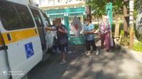 Пенсионеров Ашинского района из отдаленных сел доставляют на диспансеризацию на специализированном транспорте.